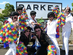 Elvis at Parkes